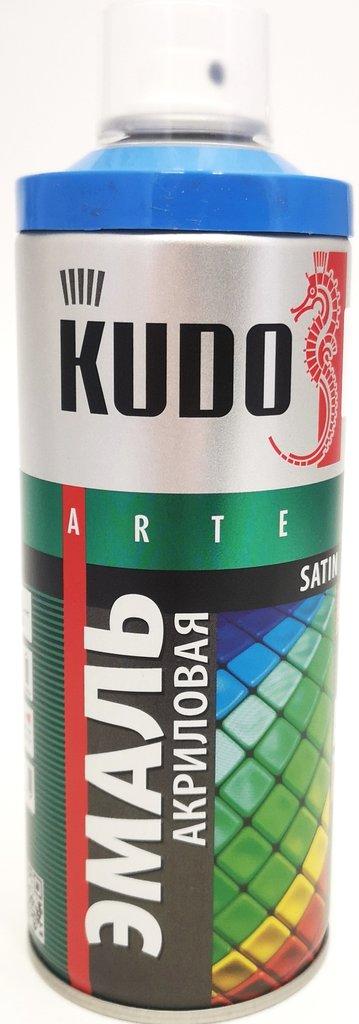 Универсальные: Краска-спрей акриловая KUDO голубая RAL 5015 в Шедевр, художественный салон