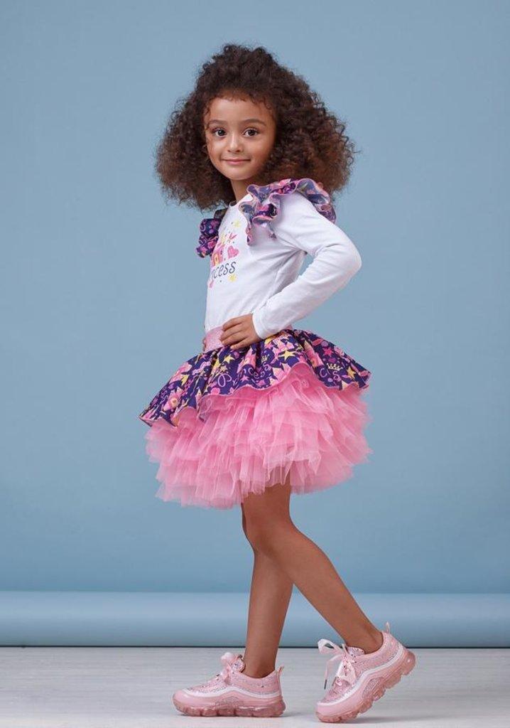 Одежда для девочек: Юбка для девочки 30-8014-3 в Детский универмаг