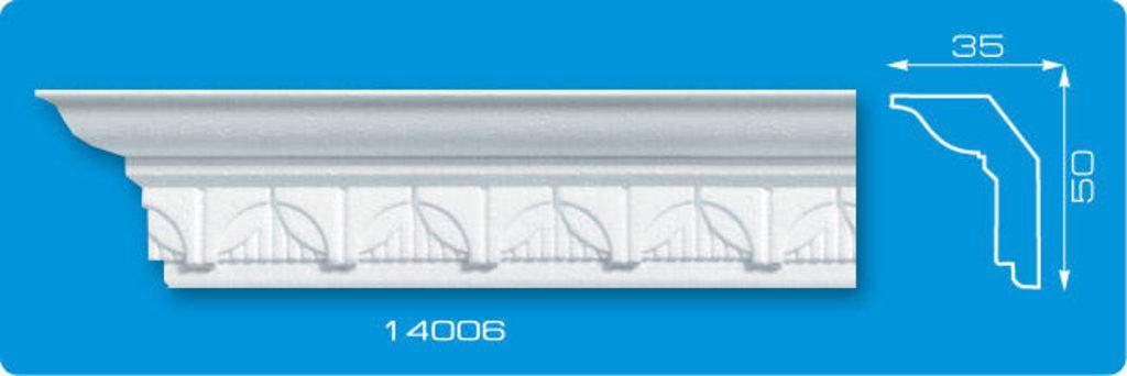 Плинтуса потолочные: Плинтус потолочный ФОРМАТ 14006 инжекционный длина 1,3м, средний в Мир Потолков