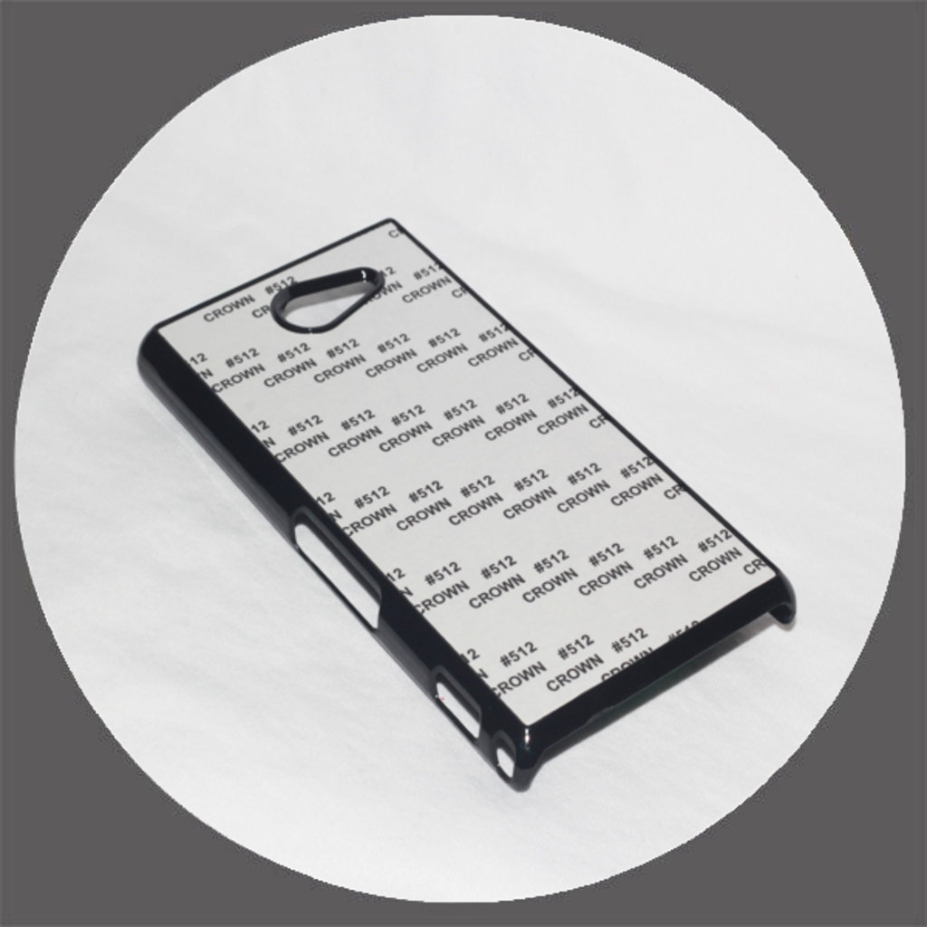 Sony: Чехол для Sony M2 Черный пластиковый в NeoPlastic