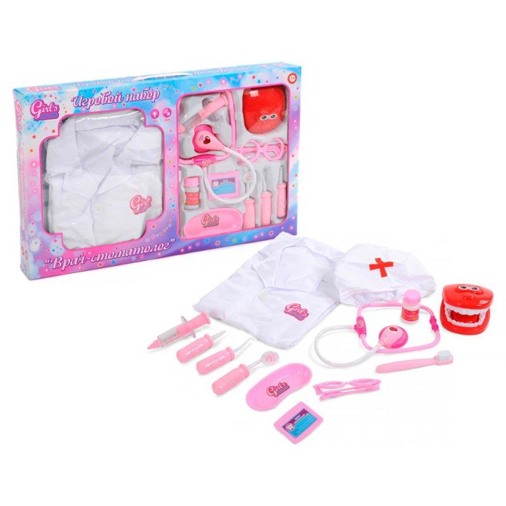 """Игрушки для девочек: Набор """"Врач-стоматолог """"Girl's club"""" звуковые и световые эффекты в Игрушки Сити"""
