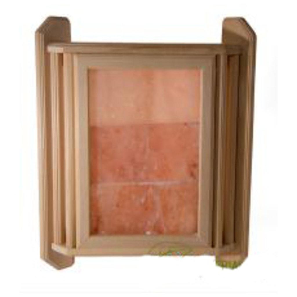 Комплектующие для саун: Абажур липа угловой из гималайской соли в Пять звезд, ООО
