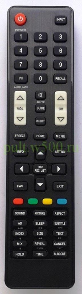 DEXP: Пульт DEXP H32B8200K (LCD) HUAYU в A-Центр Пульты ДУ