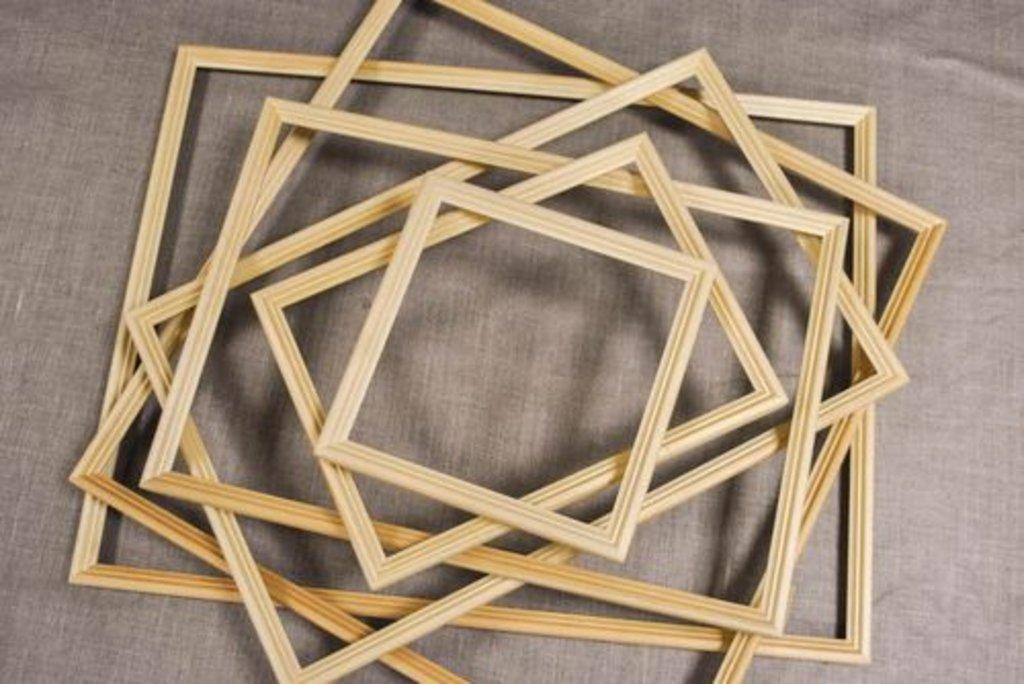 Рамы: Рама №2 30*30 Лесосибирск сосна в Шедевр, художественный салон