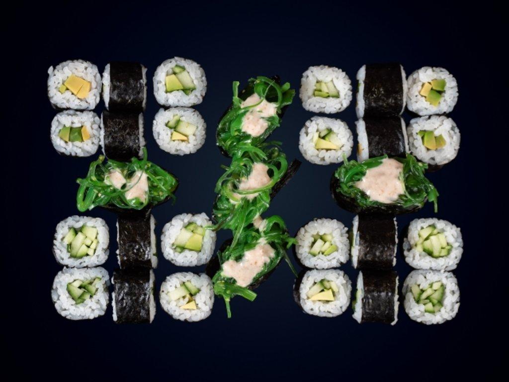 Наборы: Вегетарианский в МЭСИ суши&роллы