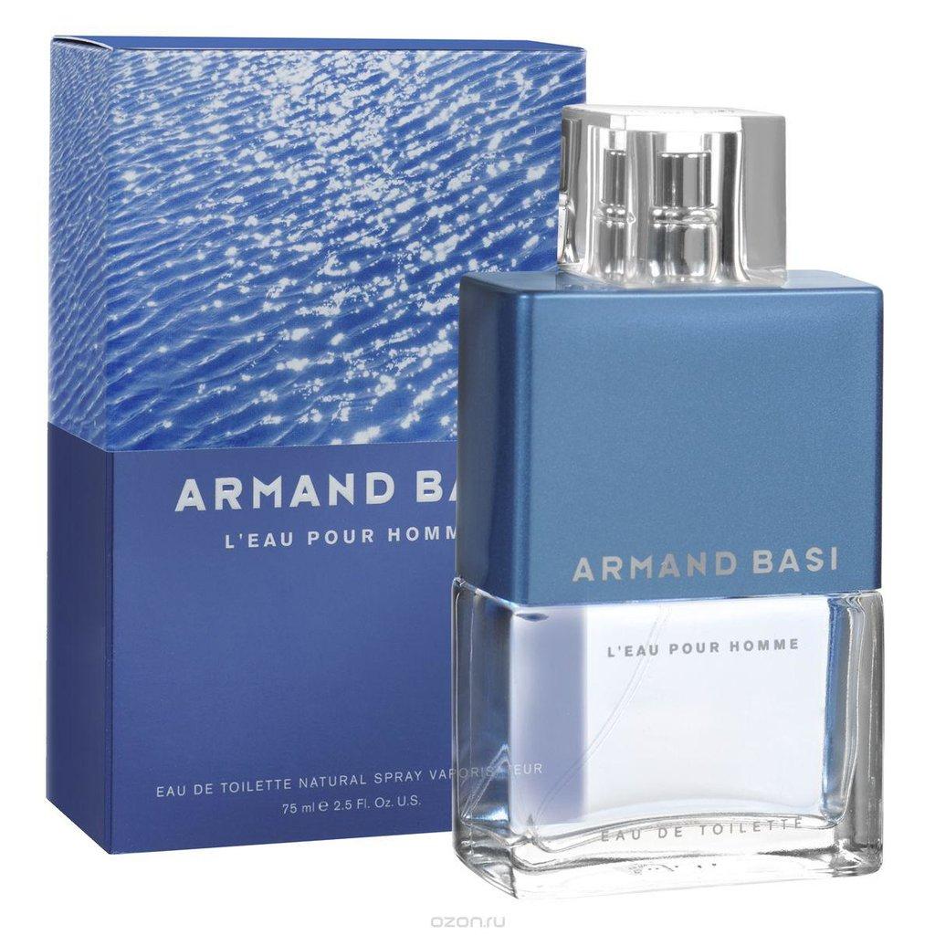 Мужская туалетная вода: Armand Basi L'Eau edt 75 ml | 125 ml в Элит-парфюм