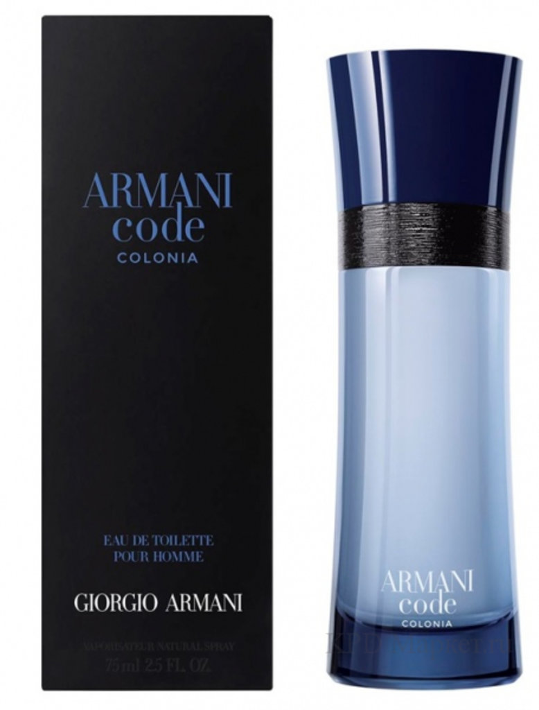 Giorgio Armani (Джорджио Армани): Giorgio Armani Armani Code Colonia edt 100ml в Мой флакон
