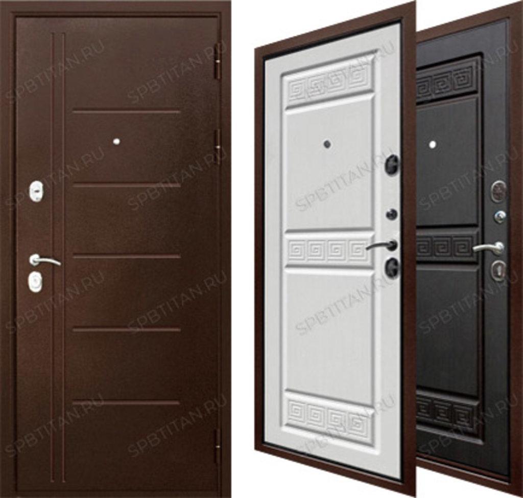 Двери Цитадель: Дверь входная металлическая Троя Антик 10см в Салон дверей Доминго Ноябрьск
