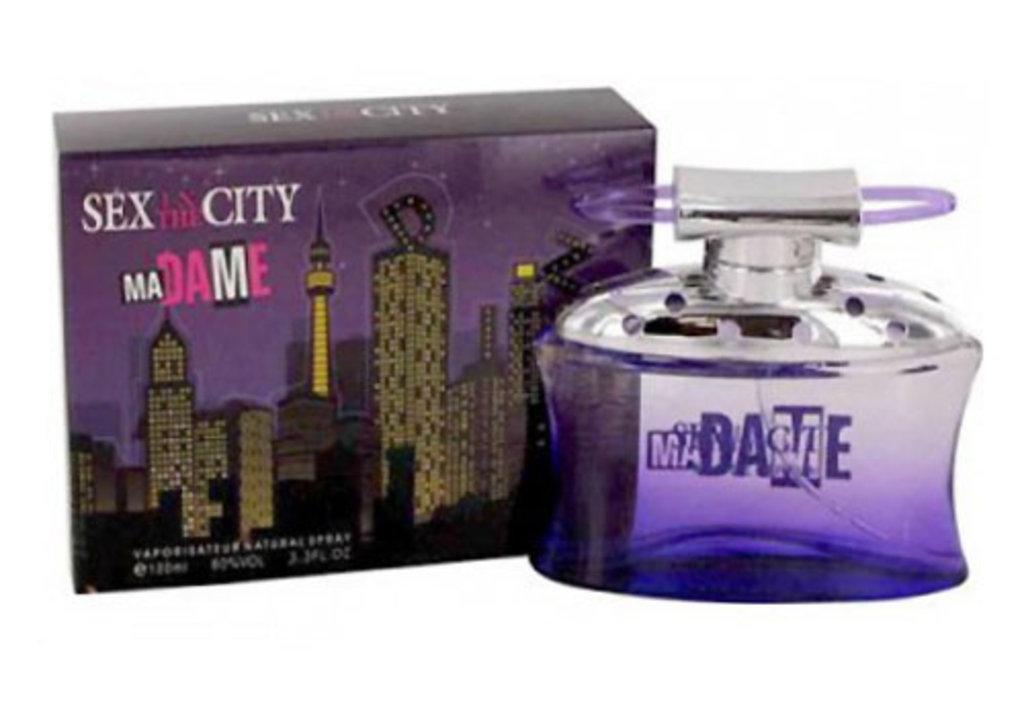 Sex In the City: Парфюмерная вода Sex In the City Madame edp 100ml (черный) в Элит-парфюм