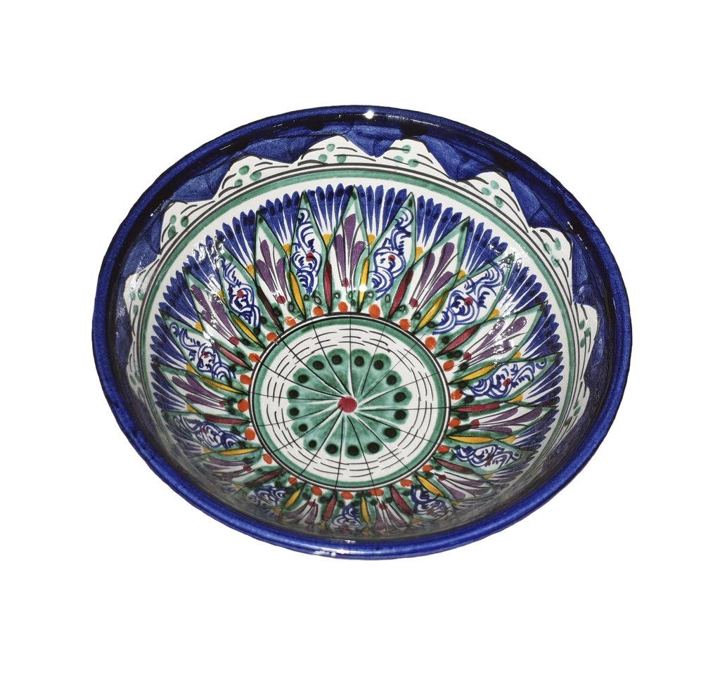 Казаны. Узбекская и турецкая посуда: Коса для первых блюд Риштанская керамика в Сельский магазин