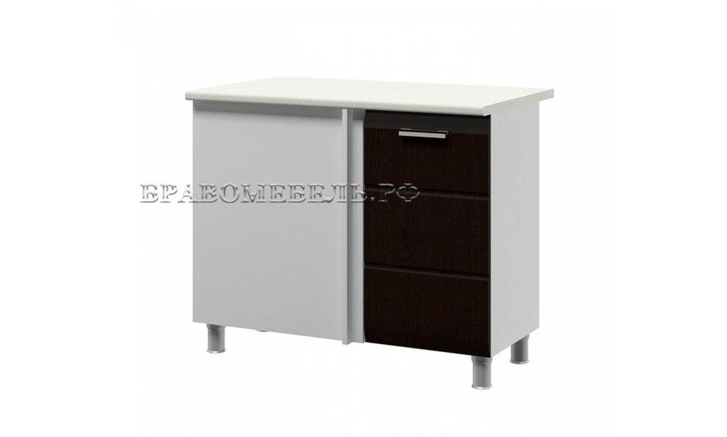Кухонный гарнитур Ривьера: Шкаф-стол под мойку угловой Ривьера, 1-дверный 1000 в Уютный дом
