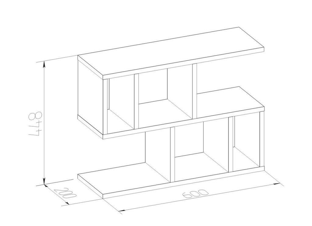 Стеллажи, общее: Стеллаж Румер мини в Стильная мебель