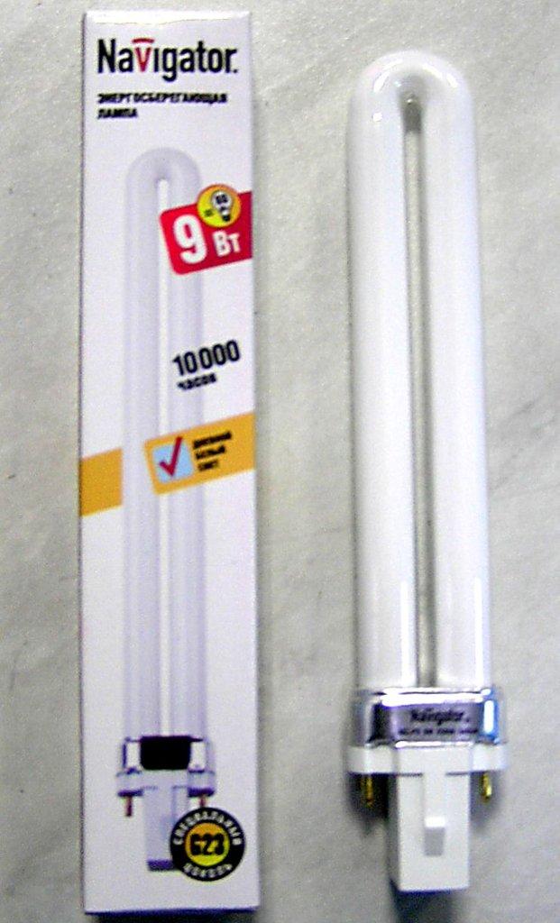 Энергосберегающие лампы: Navigator PS 9Вт G23 6500K в СВЕТОВОД