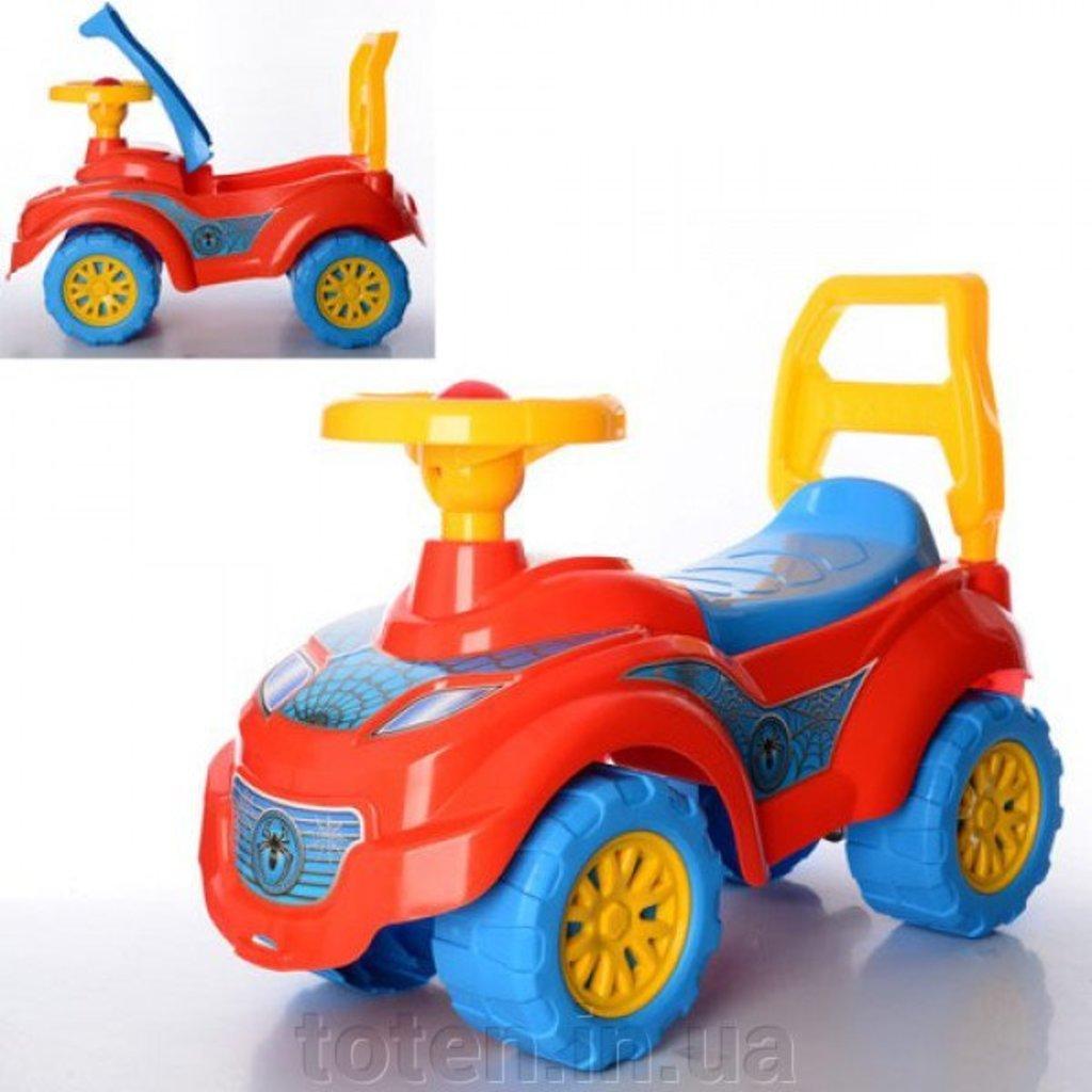 Транспорт для малышей: Машина-каталка для прогулок, Спайдер ТехноК  3077 в Игрушки Сити