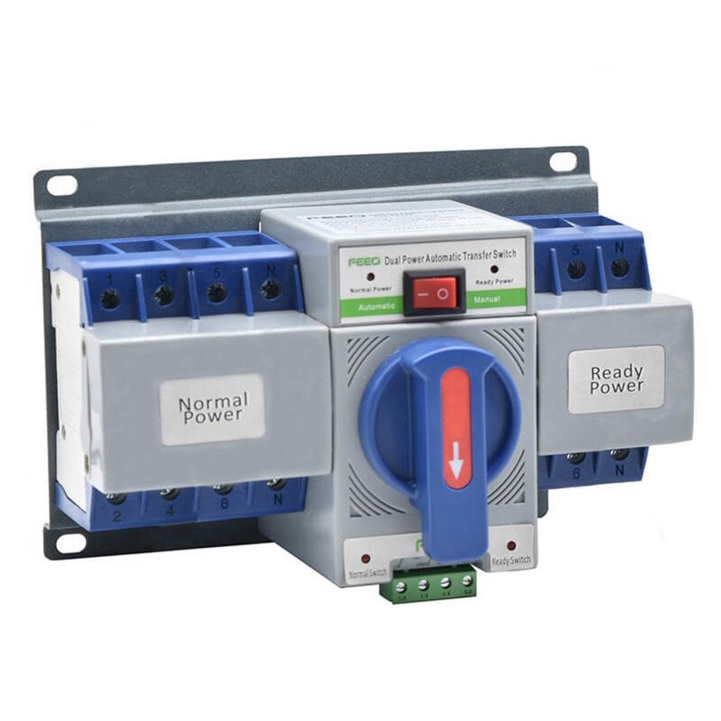 Аксессуары: Автомат ввода резерва FTS-63-4P в Горизонт
