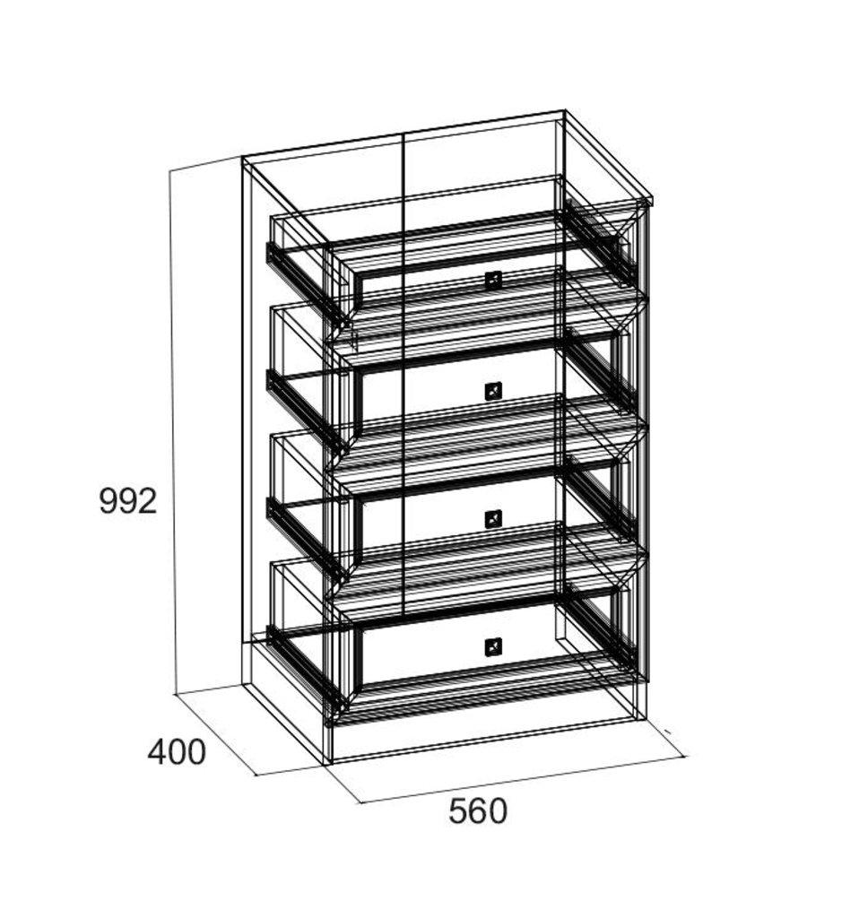 Комоды для дома: Комод PAOLA 90 в Стильная мебель