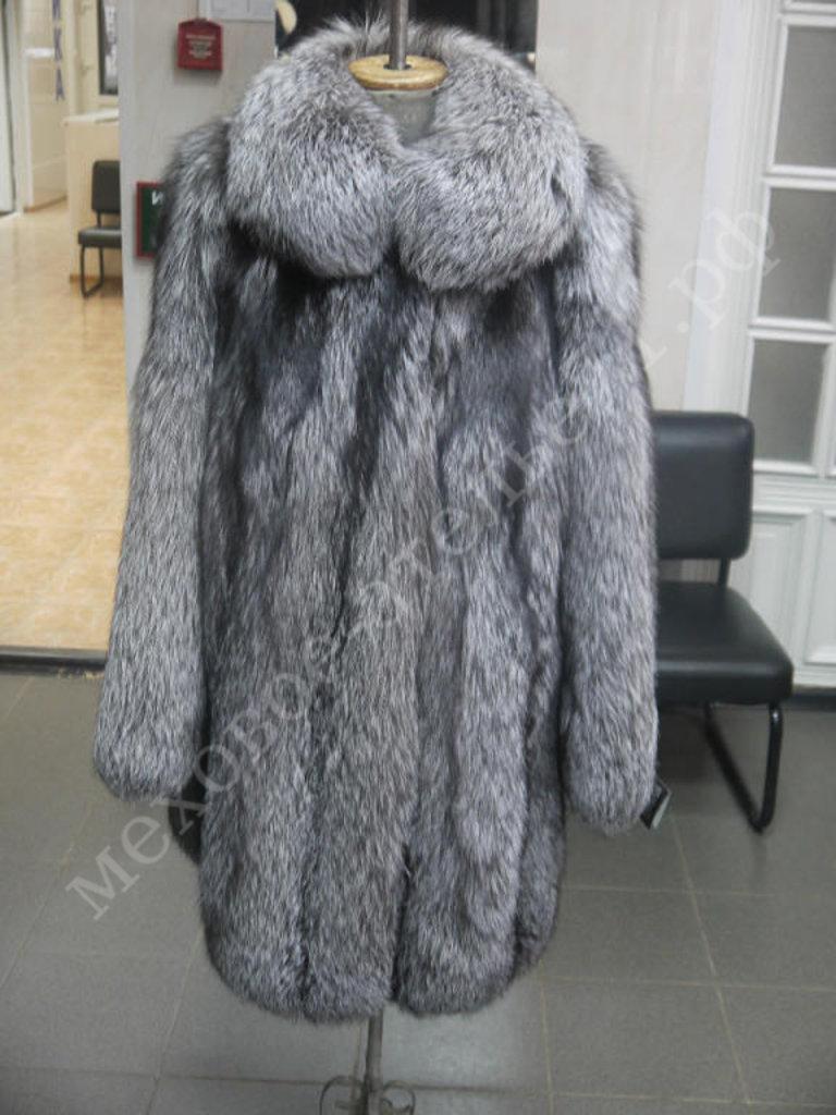 Индивидуальный пошив: Свингер из чернобурой лисы в Молодость