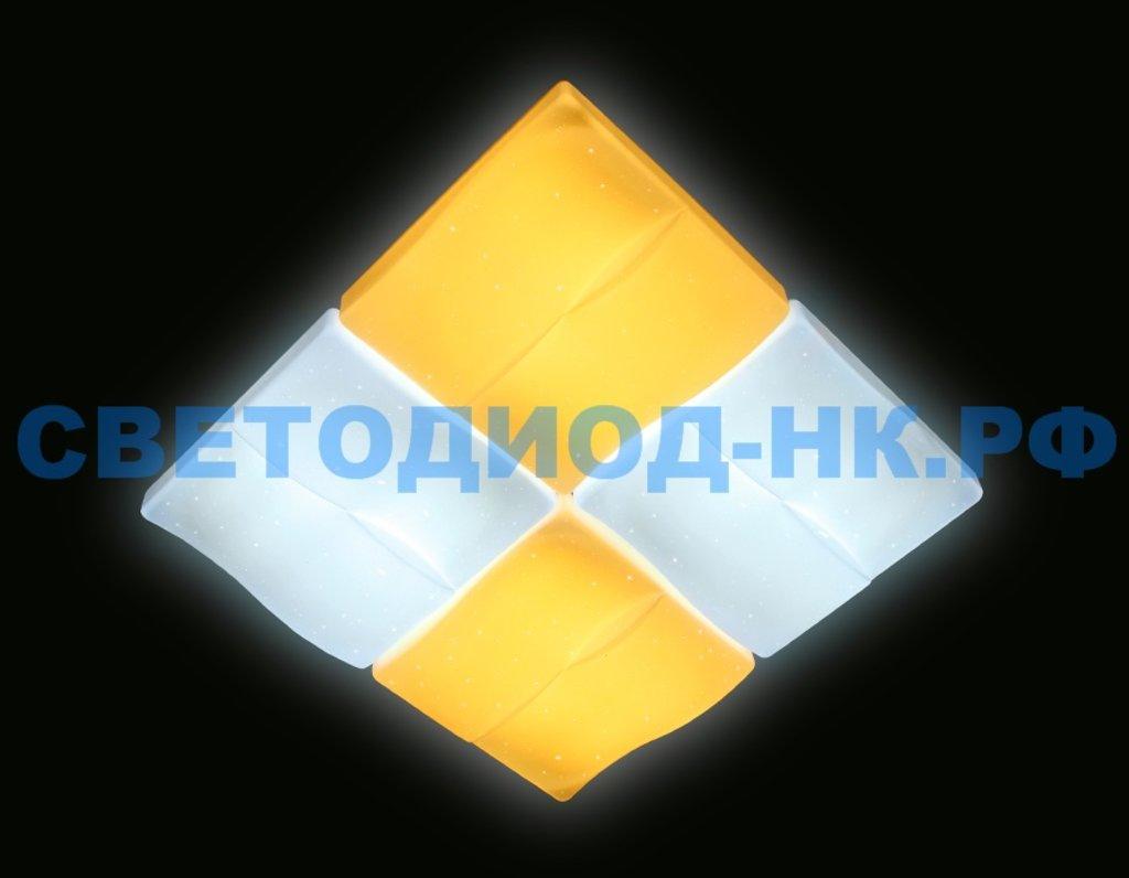 AMBRELLA: СВЕТИЛЬНИК AMBRELLA FP2382 WH 128W D500*500 ORBITAL МНОГОФУНКЦИОНАЛЬНЫЙ (ПДУ) в СВЕТОВОД