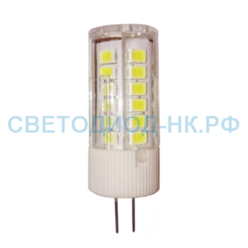 Цоколь G4, MR11, GY6.35: LED-JC-standard 3Вт 12В G4 4000К 270Лм ASD в СВЕТОВОД