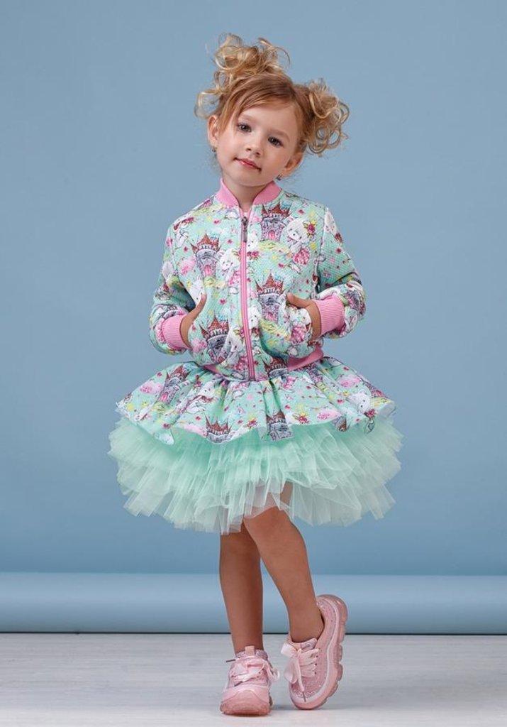 Одежда для девочек: Куртка для девочки 48-8013-1 в Детский универмаг