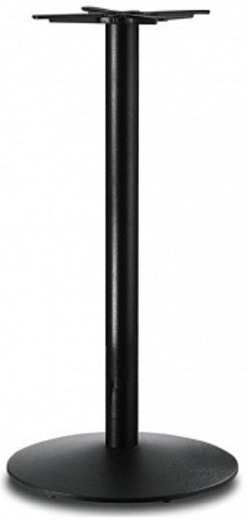 Подстолье, опоры: Подстолье барное 1257ЕМ (чёрный) в АРТ-МЕБЕЛЬ НН