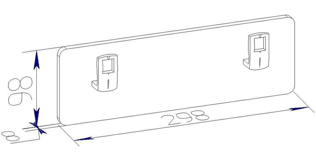 Мебель для спален, общее: Вешалка mini в Стильная мебель
