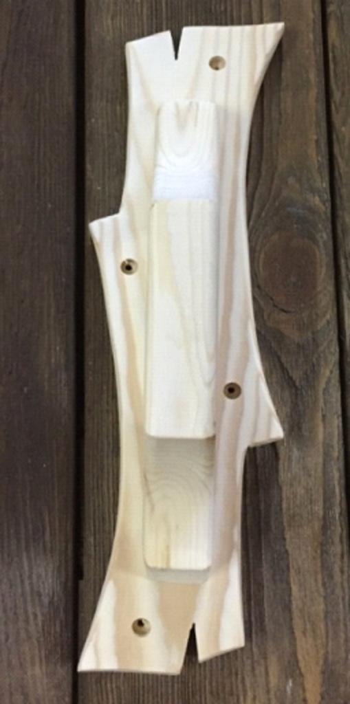 Дверные ручки: РУЧКА ВЕТКА (1) сосна в Погонаж