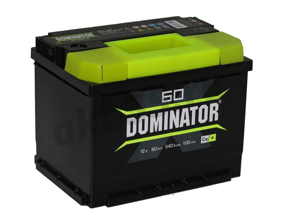Аккумуляторы: Dominator 60 А/ч Прямой в Планета АКБ
