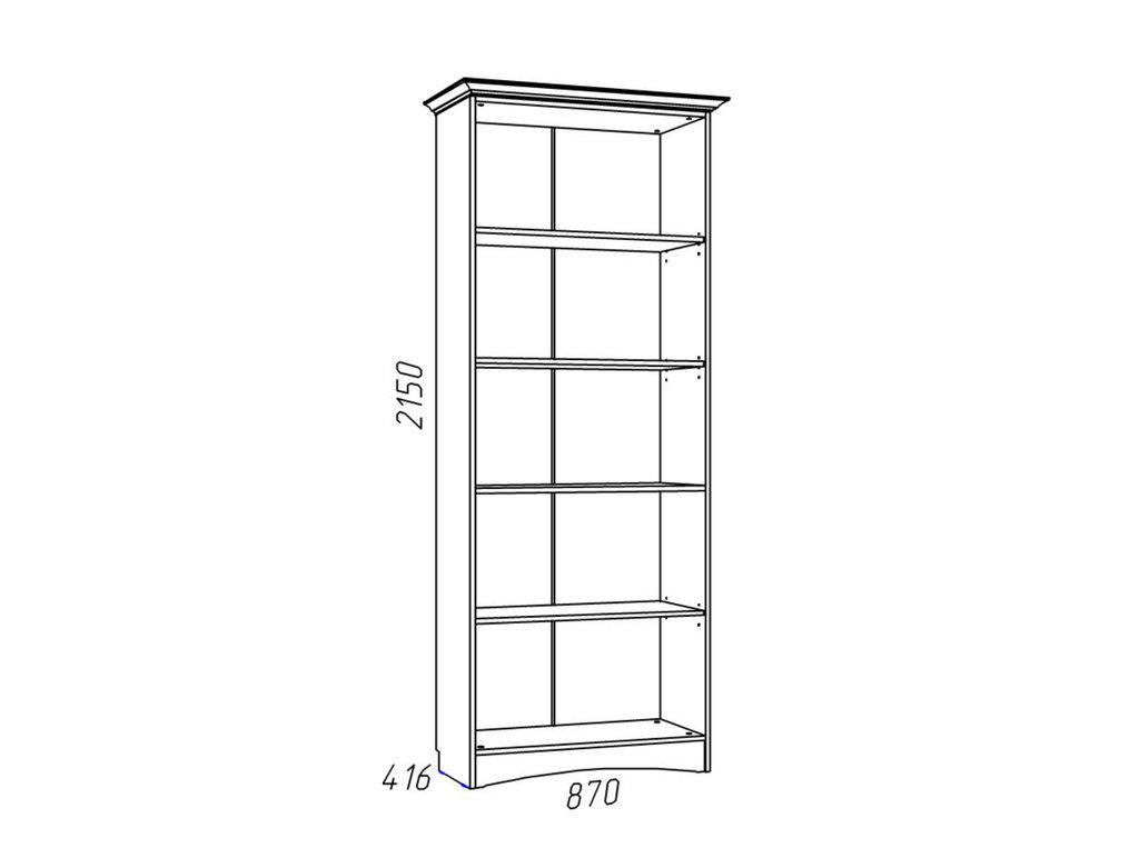 Детские шкафы и стеллажи: Шкаф комбинированный НМ 009.23 Прованс в Стильная мебель