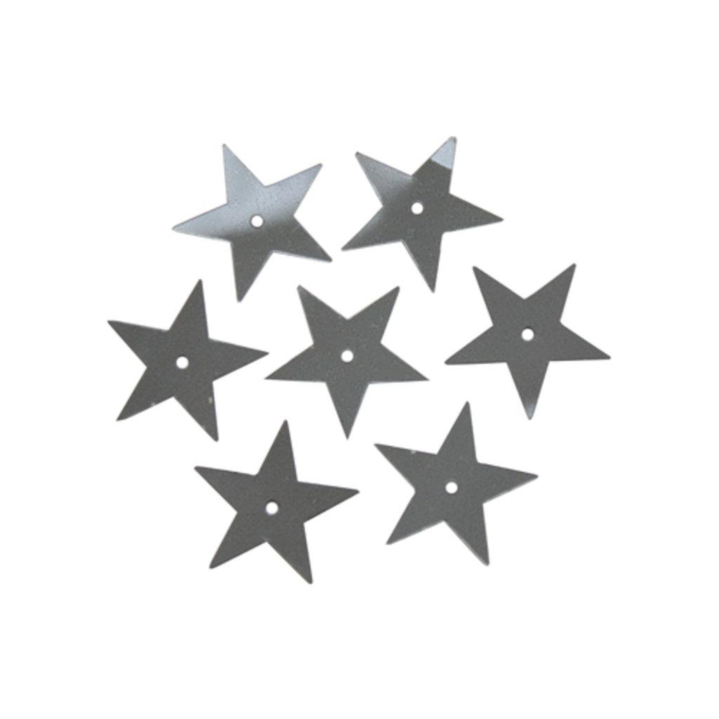 Звездочки: Пайетки звездочки,20мм.,упак/10гр.Астра(цвет:748 графит) в Редиант-НК