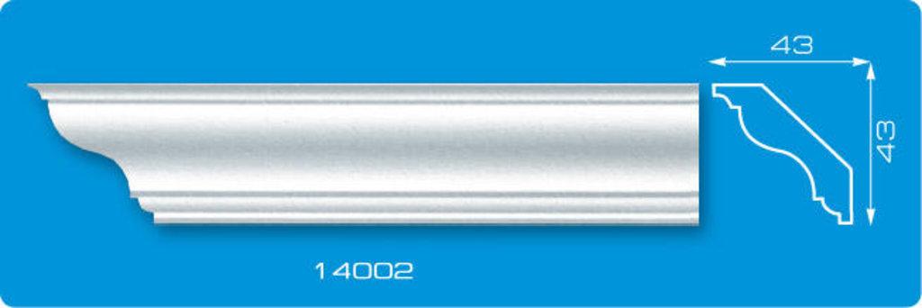 Плинтуса потолочные: Плинтус потолочный ФОРМАТ 14002 инжекционный длина 1,3м, средний в Мир Потолков