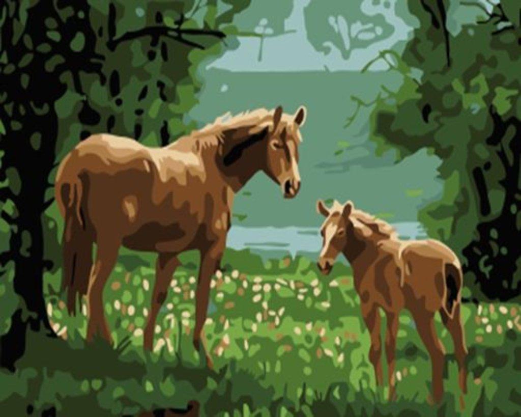 Картины по номерам: Картина по номерам Paintboy 20*30 Мать и дитя GX3906 в Шедевр, художественный салон