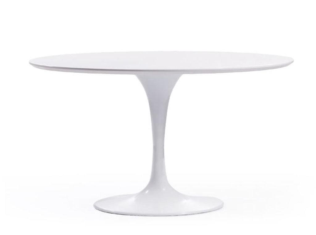 Столы обеденные: Стол обеденный Априори T круглый 120 см в Актуальный дизайн