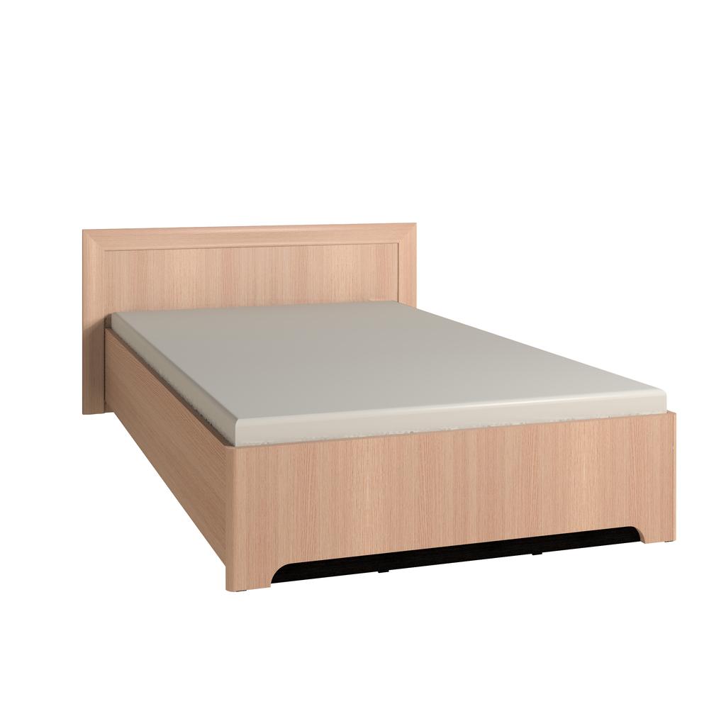 Кровати: Кровать Анкона 4 (1200, орт. осн. дерево) в Стильная мебель
