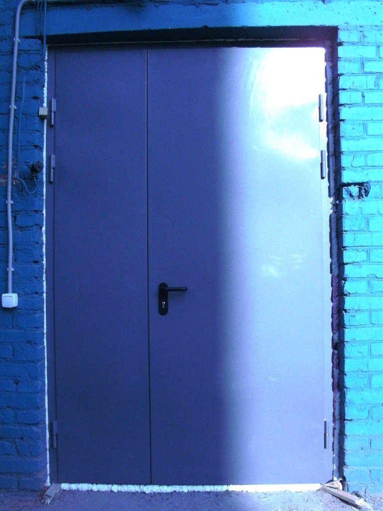Противопожарные двери: Противопожарная однопольная дверь ДПМ2 EI 60 (1300) в Автоворота71