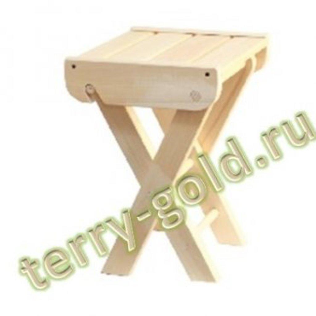 Садовая и пляжная мебель, общее: Табурет раскладной в Terry-Gold (Терри-Голд), погонажные изделия