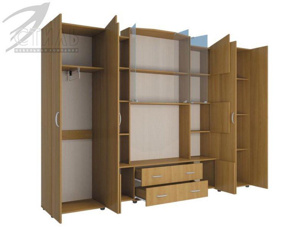 Гостиные: Мебель для гостиной Макарена - 8 (ольха) в Диван Плюс