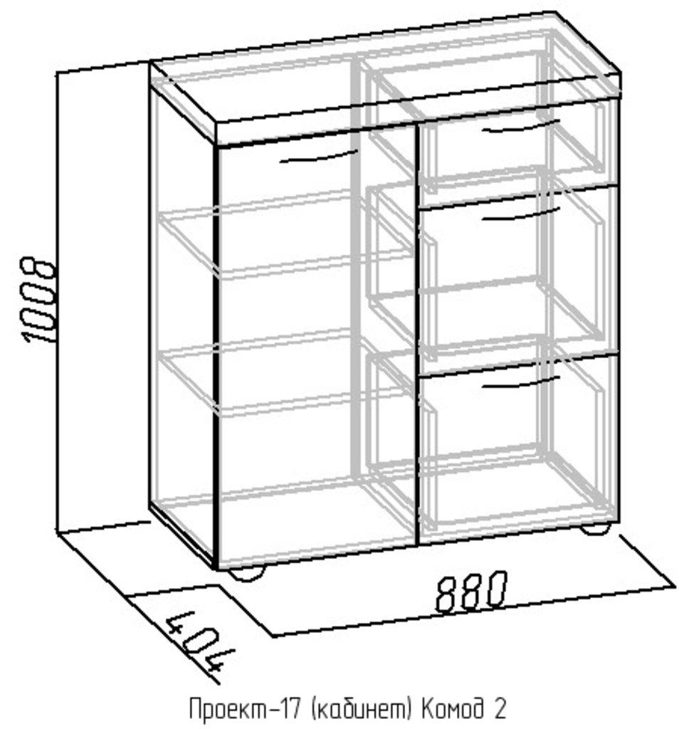 Комоды для дома: Комод2 Проект-17 в Стильная мебель