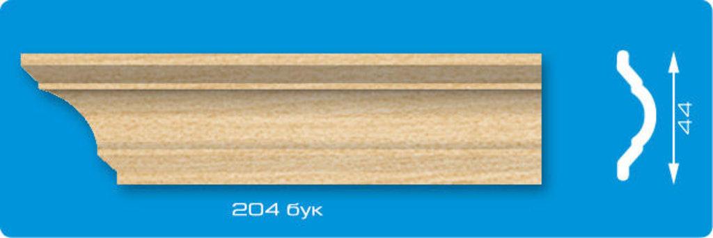 Плинтуса потолочные: Плинтус потолочный ЛАГОМ Ламинированный 204 бук экструзионный длина 2м в Мир Потолков