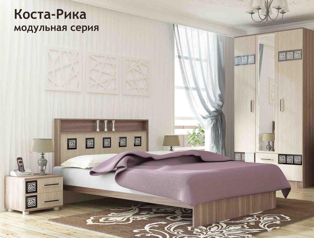 Модульная мебель в спальню Коста-Рика: Модульная мебель в спальню Коста-Рика в Стильная мебель
