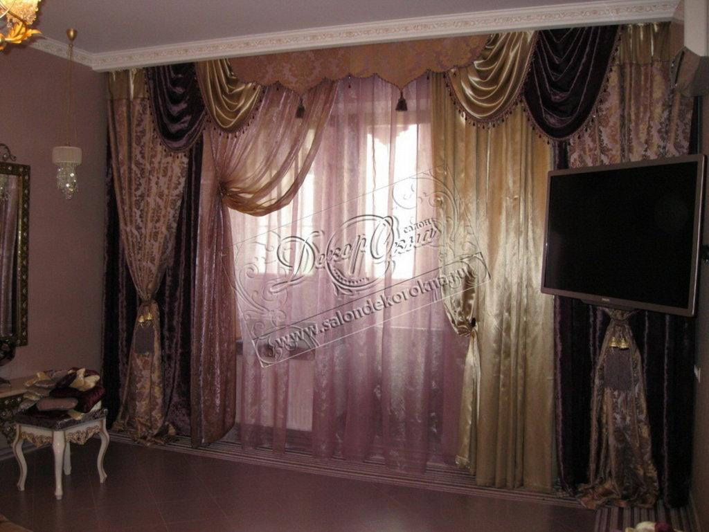 Шторы, портьеры: Шторы в спальню в Декор окна, салон