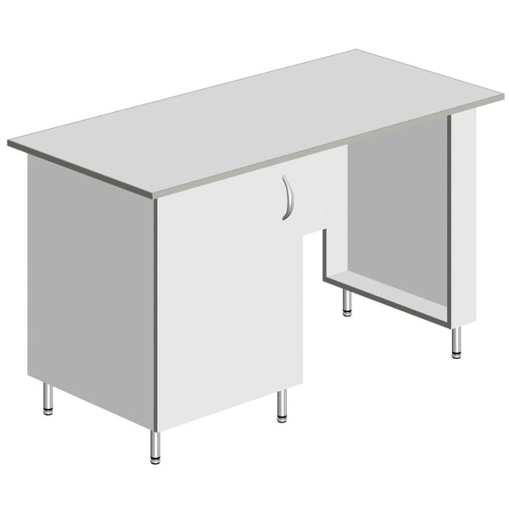 Стол для кабинета: Стол для кабинета СКМ-Л-01 ЛАВКОР в Техномед, ООО