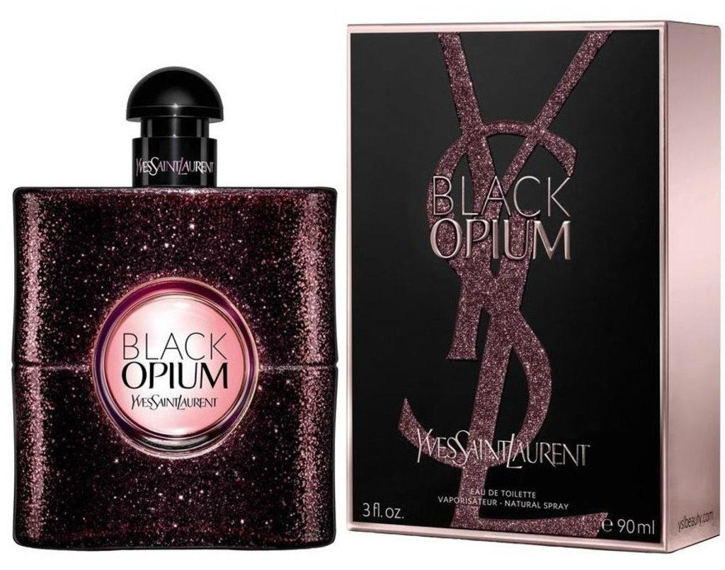 Yves Saint Laurent (Ив Сен-Лоран): Yves Saint Laurent Black Opium Eau de Toilette (Ив Сен Лоран блек Опиум Туалетная Вода) edt 90ml в Мой флакон