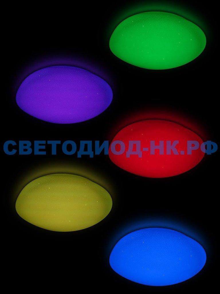 LUMIN'ARTE: СВЕТИЛЬНИК LED LUMIN'ARTE CLL2260WRGB-METEOR 60W 3000-6500K 6K 5600LM ПУЛЬТ ДУ 105*510*535ММ в СВЕТОВОД