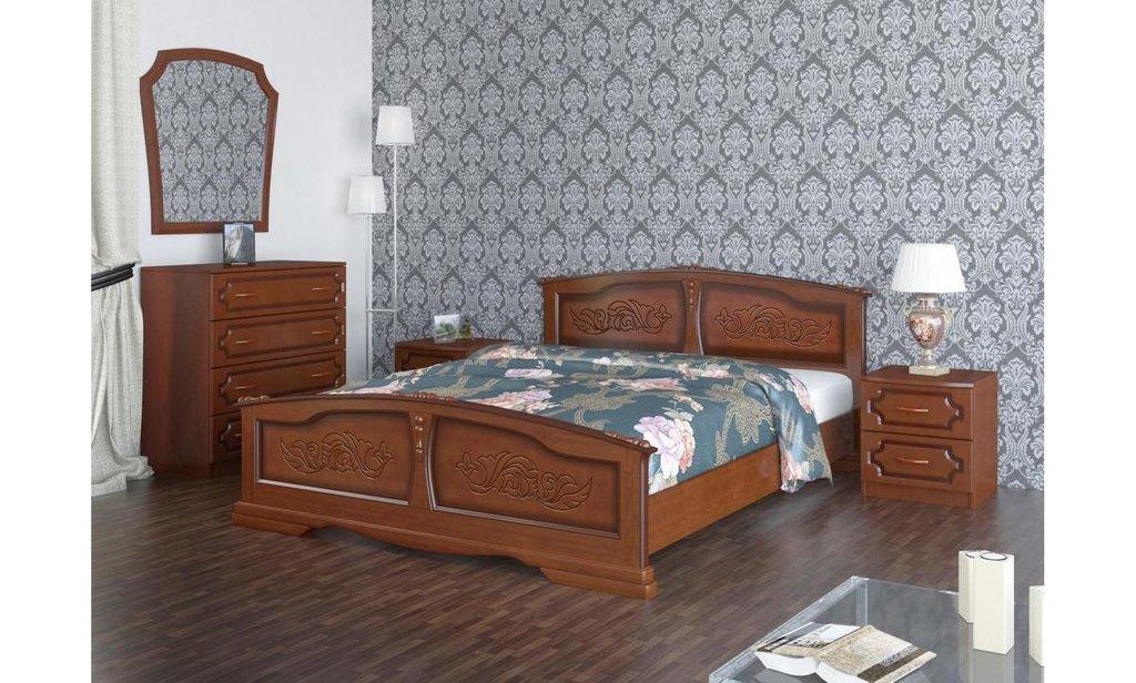 Кровати: Кровать Елена (массив) в Уютный дом