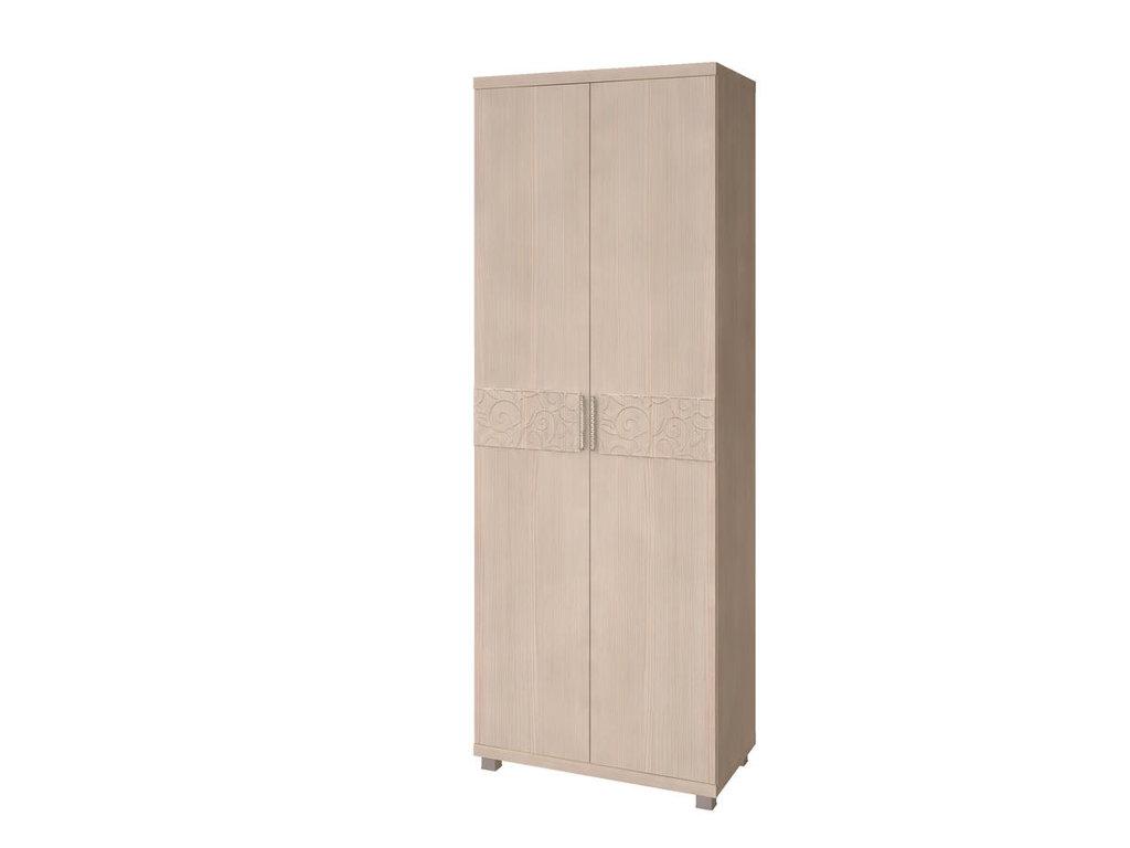 Мебель для прихожей Ирис (Дуб Бодега). Модули: Шкаф для одежды 2-х дверный Ирис 28 в Диван Плюс