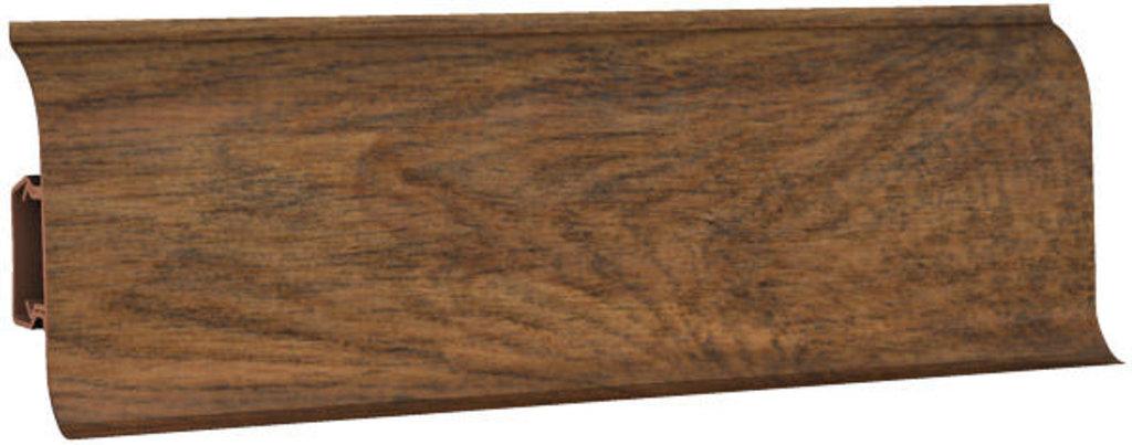 Плинтуса напольные: Плинтус напольный 60 ДП МК полуматовый 6061 дуб красный в Мир Потолков