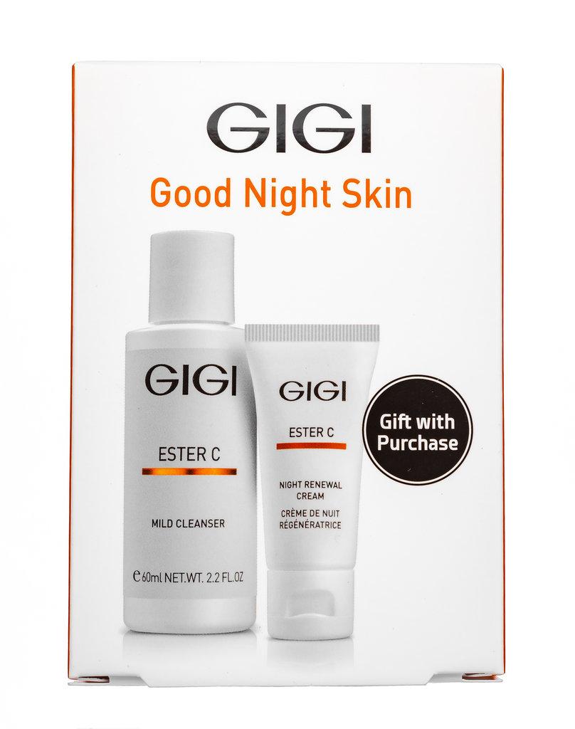 Дорожный набор: Дорожный набор для ухода перед сном / Good Night Skin, Ester C, GiGi в Косметичка, интернет-магазин профессиональной косметики