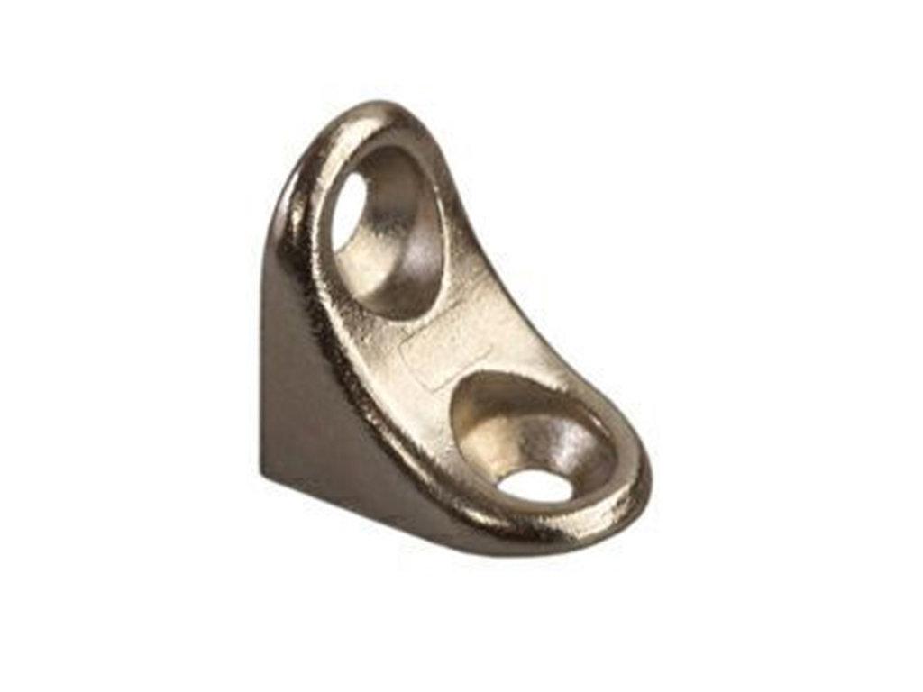 Крепежные изделия, общее: Полкодержатель-уголок без фиксации в ВДМ, Все для мебели, ИП Жаров В. Б.