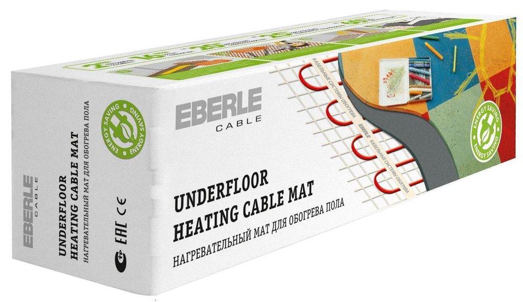 Мат нагревательный EBERLE: Мат EBERLE-cable D-mat 150/2.0-300 (2.0м.кв., 300Вт) в Теплолюкс-К, инженерная компания